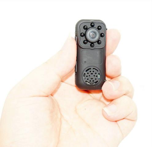 Ceamara Mini Wearable, 1080P, Ceamara 2.0MP, Céim 140 - 5
