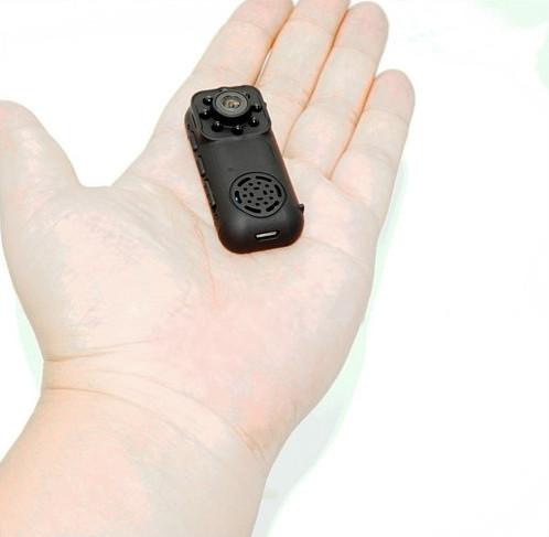 Ceamara Mini Wearable, 1080P, Ceamara 2.0MP, Céim 140 - 6