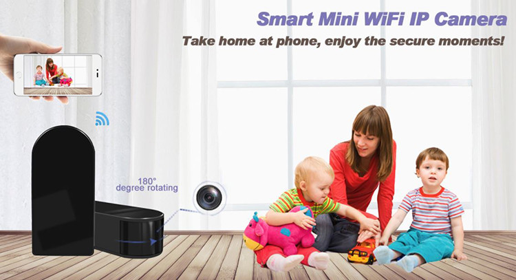 HD 1080P Mini Black Box WiFi Camera - 4