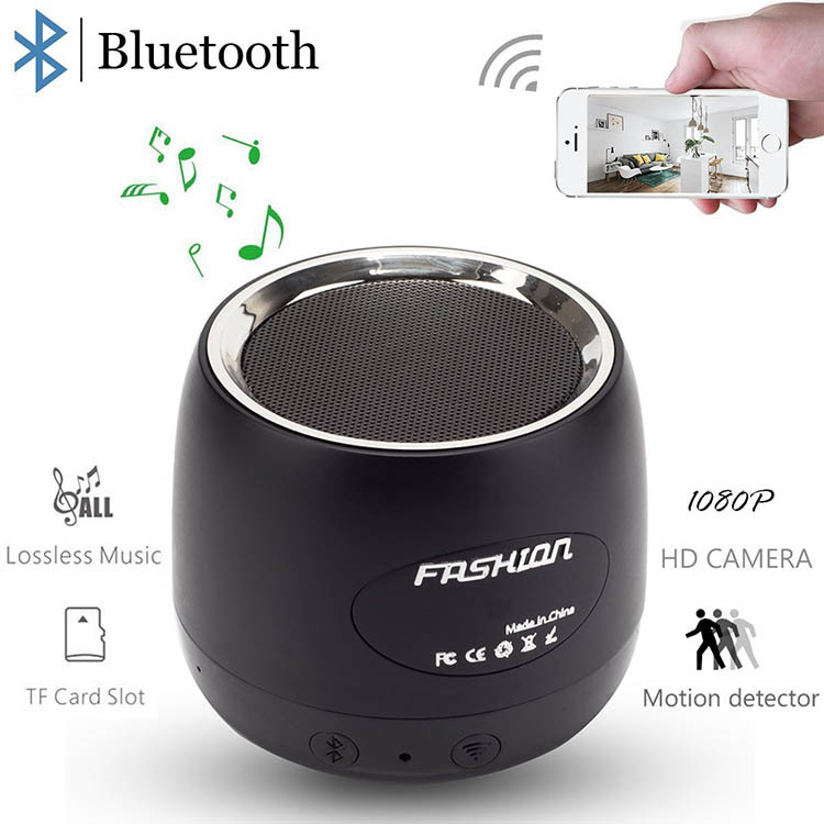 HD Wifi Hidden Camera Bluetooth Speaker (SPY164)