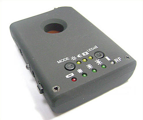 RF Bug Lens Detector, 6pcs led ,0-6.5G,Distance 3m - 3