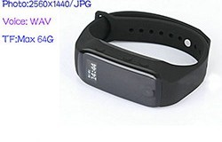 Wristband Camera, Battery Life 90min - 1 250px