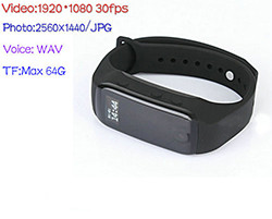 Te Kamera Wristband, Life Battery 90mins (SPY163) - S $ 148