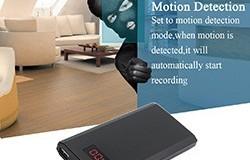 HD 1080P 10000mAh kannettava Power Bank -kamera, tallentaa jatkuvasti 20Hrs - 1 250px