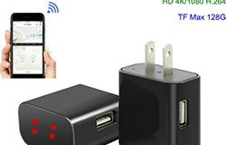 4K WiFi Charger Camera, HD 4K, H.264 - 1 250px