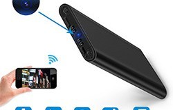4K WIFI Power Bank Camera, SD Card Max 128G, Night Vision - 1 250px