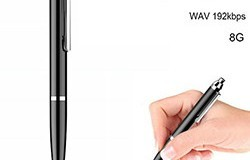 HD Pen Voice Recorder, Recording Time 20hours, 8G - 1 250px