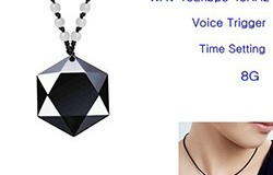 Mini Pendant Voice Recorder, Battery Time 20hours, 8GB - 1 250px