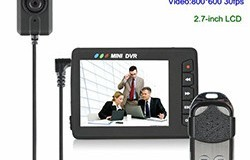 Mini Portable Camera Button DVR, Wireless Remote Control - 1 250px