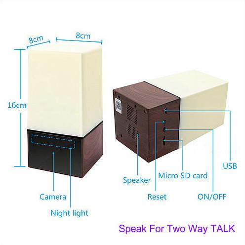 WIFI دوربین رنگی DVR، HD1080P، H.264، باتری 3500mAh، دو طرفه - 6