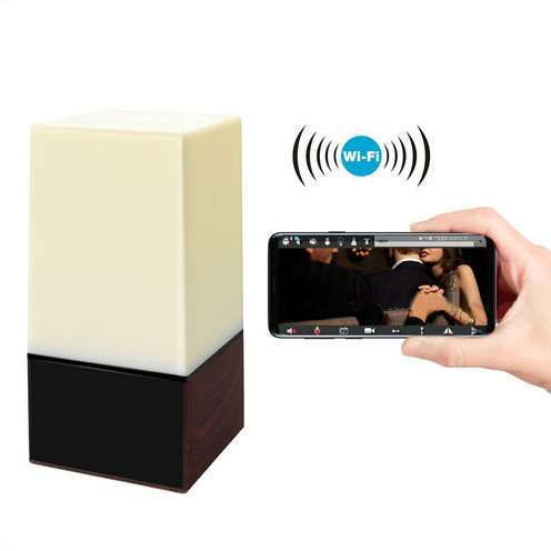 WIFI Color Light Camera DVR, HD1080P, H.264, 3500mAh battery, Two way Talk - 7