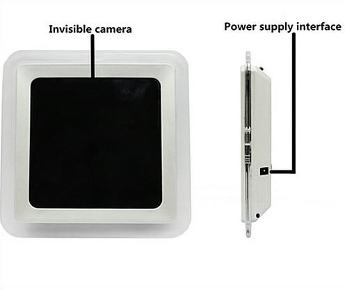 1080P H.264 WIFI հայելի ժամացույցի տեսախցիկ, APP հսկողություն, TF քարտ, շարժման հայտնաբերում - 7
