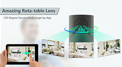 HD 1080P Sylinterisuojaus Wi-Fi-kamera - 1 250px