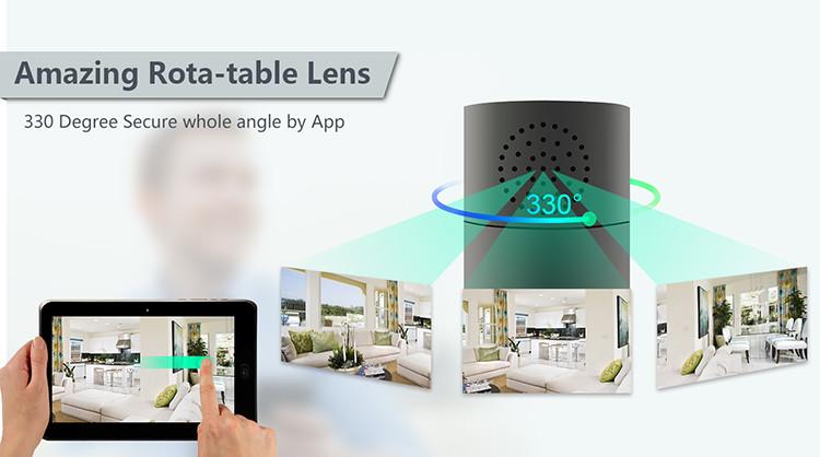 HD 1080P Cylinder Security Wi-Fi Camera - 1