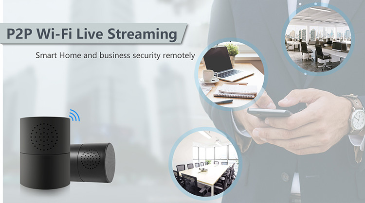 HD 1080P Cylinder Security Wi-Fi Camera - 2