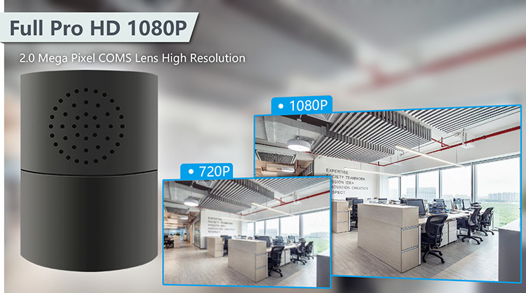 HD 1080P Cylinder Security Wi-Fi Camera - 6