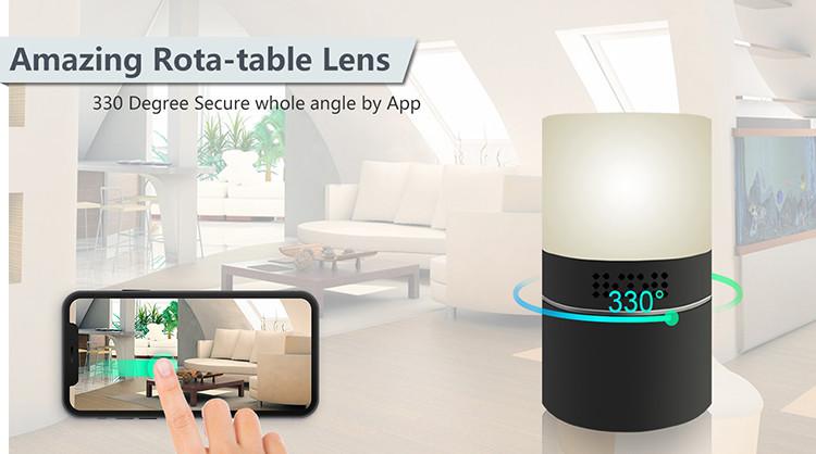 HD 1080P -työpöytävalaisin Wi-Fi-kamera - 5