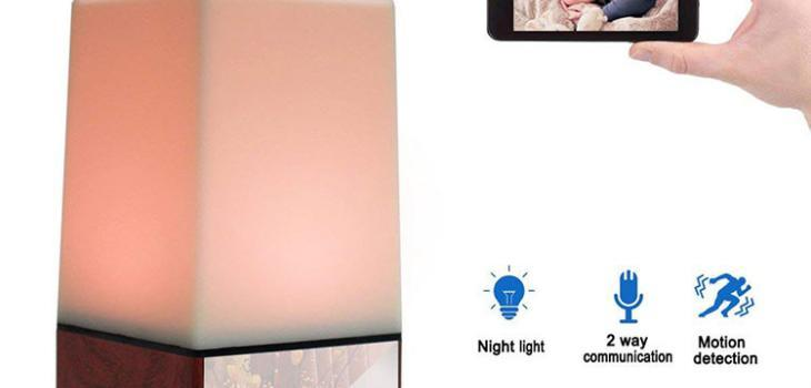 WIFI Color Light Camera DVR, HD1080P, H.264, 3500mAh battery, Two way Talk - 8