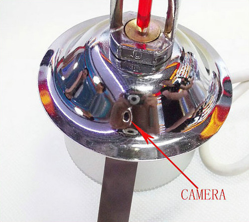 WIFI,IP Fire Sprinkler Camera, 2.0MP Camera, POE, Audio, Sony CCD,1080P - 5
