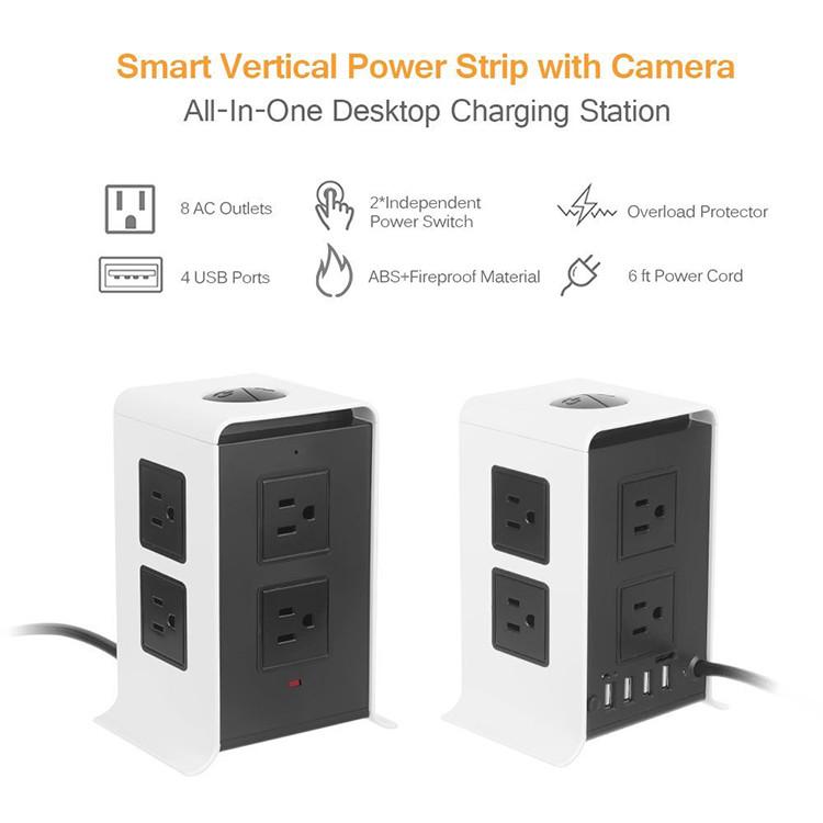 WiFi Wireless Power Charger Spy Hidden Camera - 4