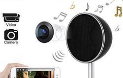 1080P WIFI Bluetooth Speakers Hidden Spy Camera - 1 250px