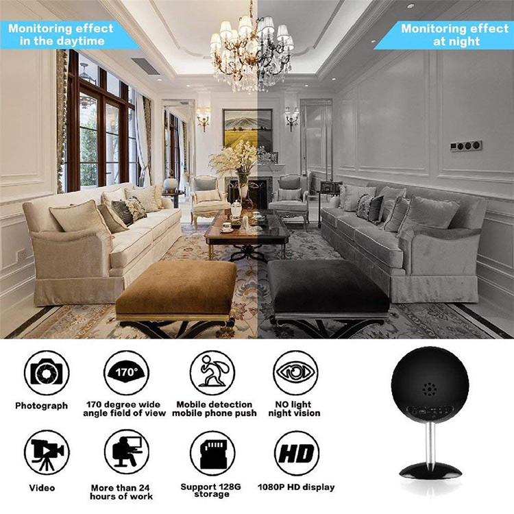 1080P WIFI Bluetooth Speakers Hidden Spy Camera - 3