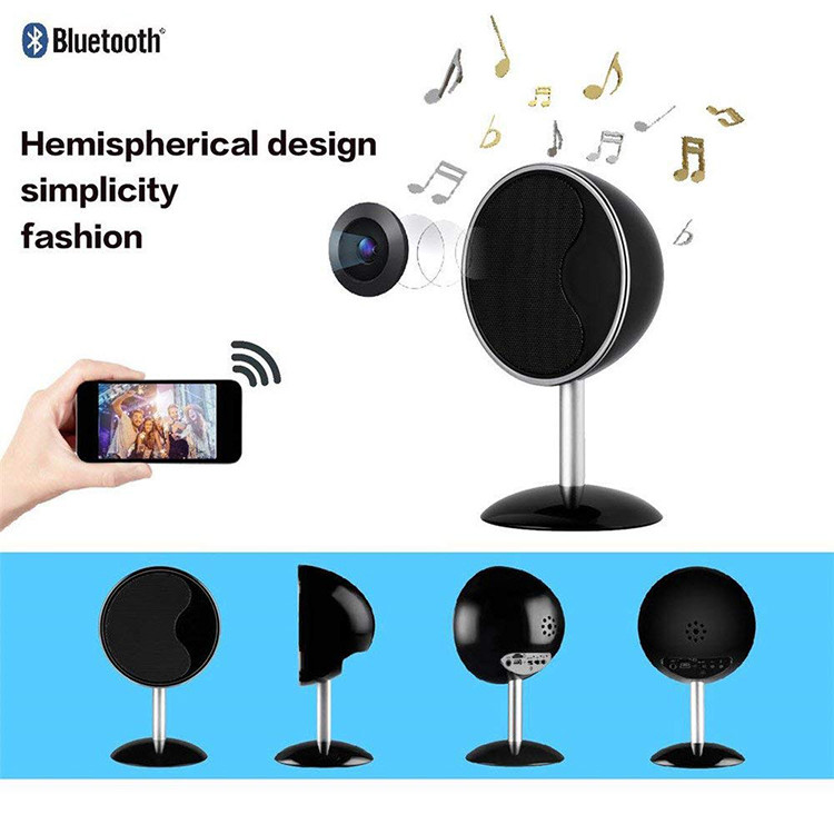 1080P WIFI Bluetooth Speakers Hidden Spy Camera - 6