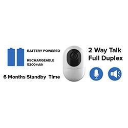 6 Months Standby Battery Powered Hidden Spy Camera Wireless IP Camera (SPY217)