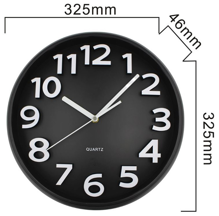 Home Decoration Wifi Wall Hidden Spy Camera Clock - 9