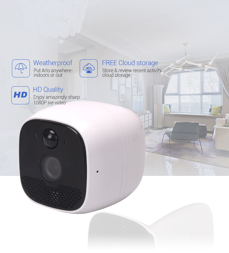 Smart Battery Wireless Hidden Outdoor Indoor Mini CCTV - 2