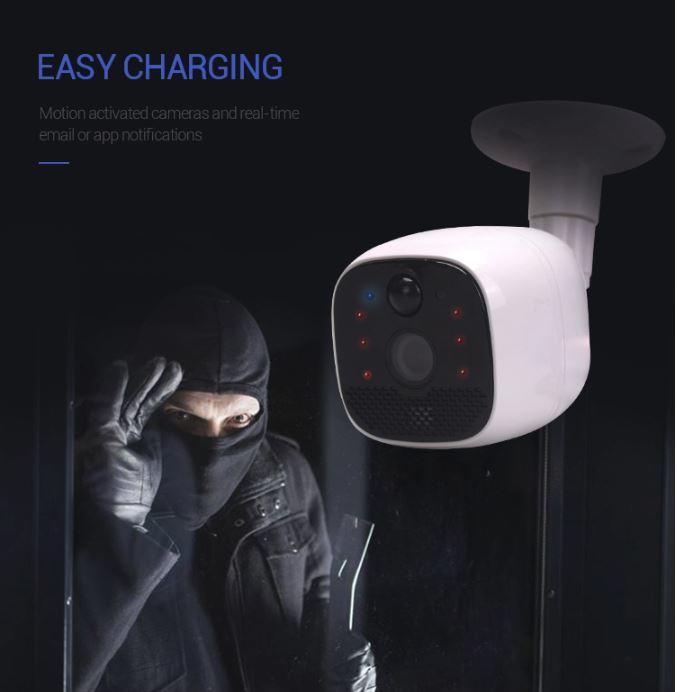 Smart Battery Wireless Hidden Outdoor Indoor Mini CCTV - 4