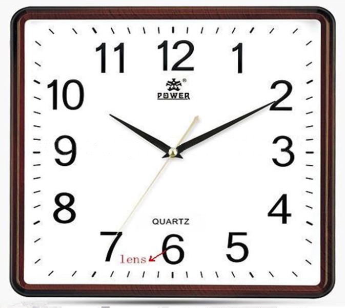 Square Wall Clock Spy Hidden Camera - 5