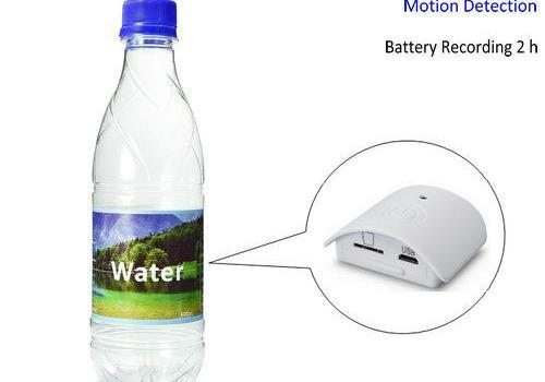 Water Bottle Camera, HD 1080P, Motion Detection, Battery Recording Time 2 hours - 1