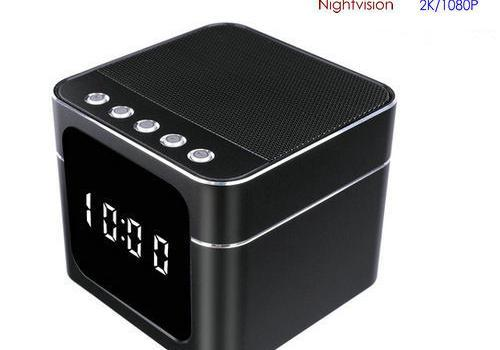 WIFI Clock Bluetooth Speaker with Nightvision - 1