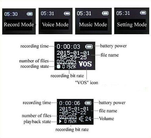 Watch Voice Recorder - 3