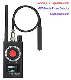 SPY Camera Bug Detector – Signal/Lens/Magnet Detector (SPY995)