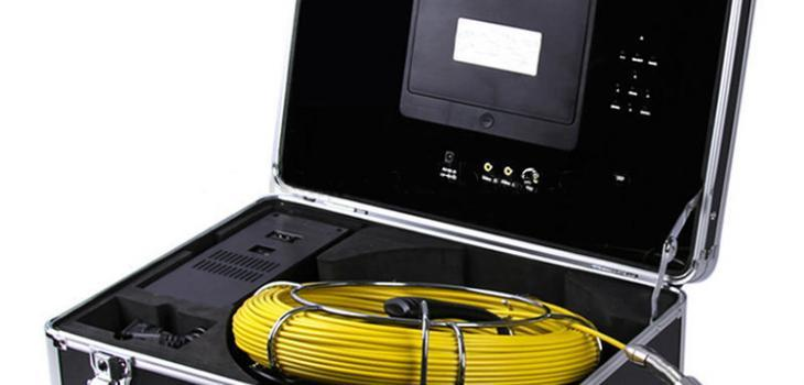 Waterproof Pipe Inspection Camera with 20m Fiber Glass cable - 1