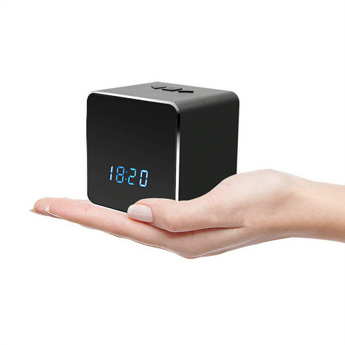 Hidden Spy Camera WIFI Bluetooth Speaker Clock, Nightvision - 3