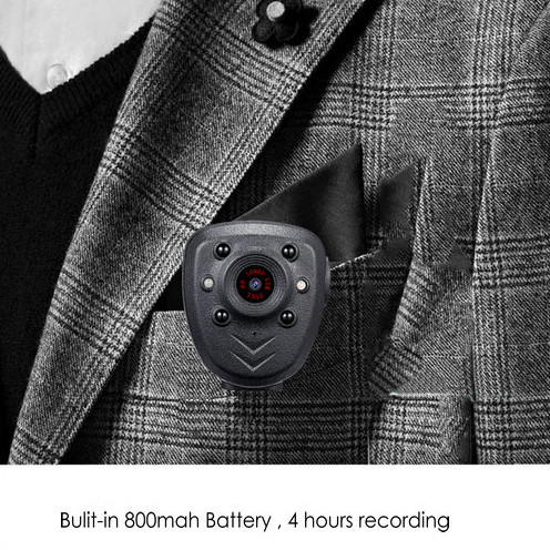 Clip Camera DVR, Super Nightvision, Battery Rec 4hours, Tógáil i 16G - 6
