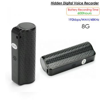 Nakatagong Voice Recorder, 600 Hrs, Buildin 8G - 1