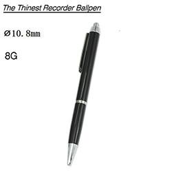 Voice Recorder Ballpoint Pen, Battery 13 Hours, 8G (SPY253)