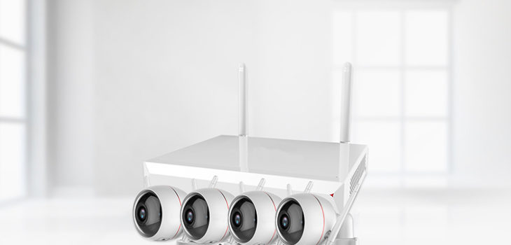 Wireless NVR and Wi-Fi camera (4 channel) - 1 750px