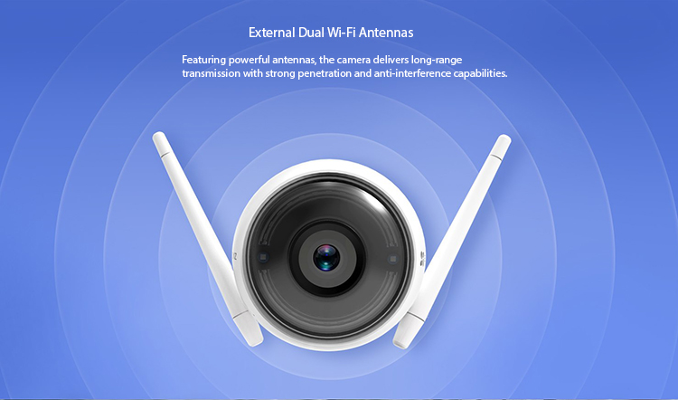 Wireless NVR and Wi-Fi camera (4 channel) - 13 750px