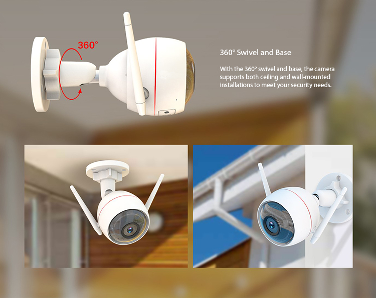 Wireless NVR and Wi-Fi camera (4 channel) - 15 750px