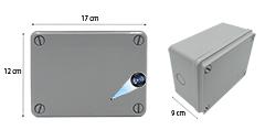 HDB PVC sähkökytkentäkaappi Roiskesuojauslaatikko Spy Hidden Camera Final 250px