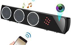WIFI Bluetooth-kaiutin SPY piilotettu kamera, HD 4K2K1080P, Super Nightvision - 1 250px