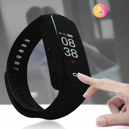I-Wristband Hlola ikhamera efihliweyo, i-TF Max 128G, i-Battery Rec Time 90min-7