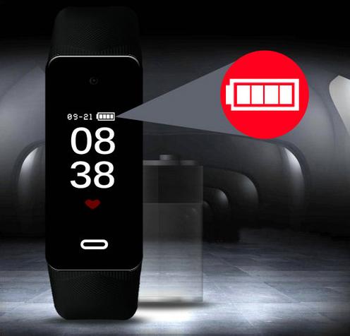 I-Wristband Hlola ikhamera efihliweyo, i-TF Max 128G, i-Battery Rec Time 90min-8