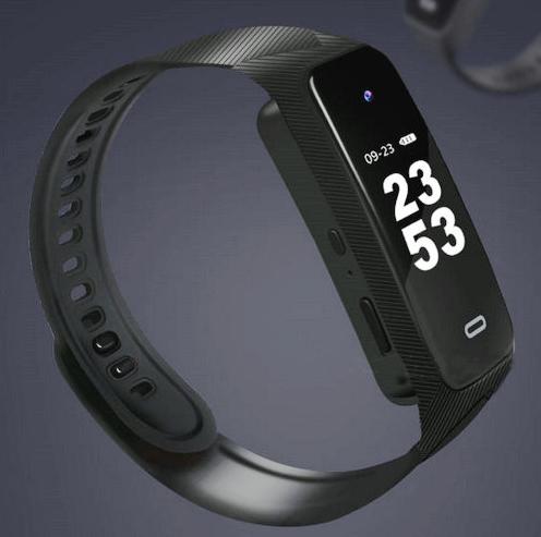 I-Wristband Hlola ikhamera efihliweyo, i-TF Max 128G, i-Battery Rec Time 90min-9