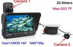 Under Water Camera DVR, Dual Camera, 4.3 inch LCD, 720P&480P, 20meters - 1 250px